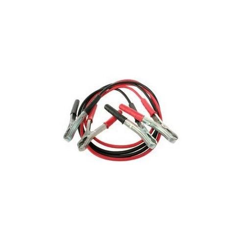 Jeu de câbles démarrage 25 mm² 120 ampères pour batterie