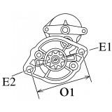 Anlasser ersetzt MITSUBISHI M2T63171 / M2T62771 / M2T61171