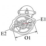 Anlasser ersetzt DENSO 228000-5382 / 228000-4293 / 228000-4292