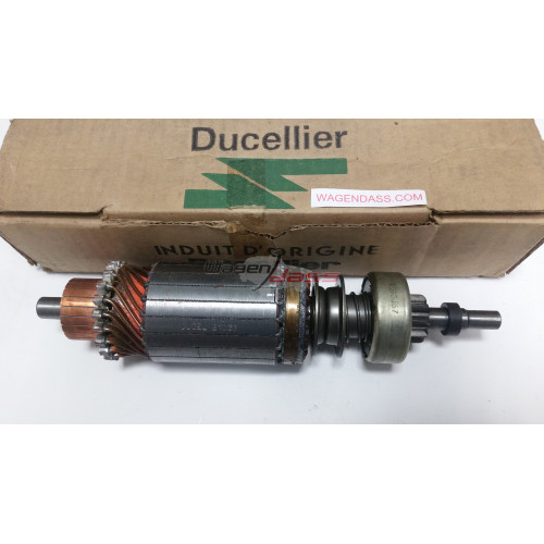 Ensemble drive / armature for starter Ducellier 6162A / 6162C / 6162E
