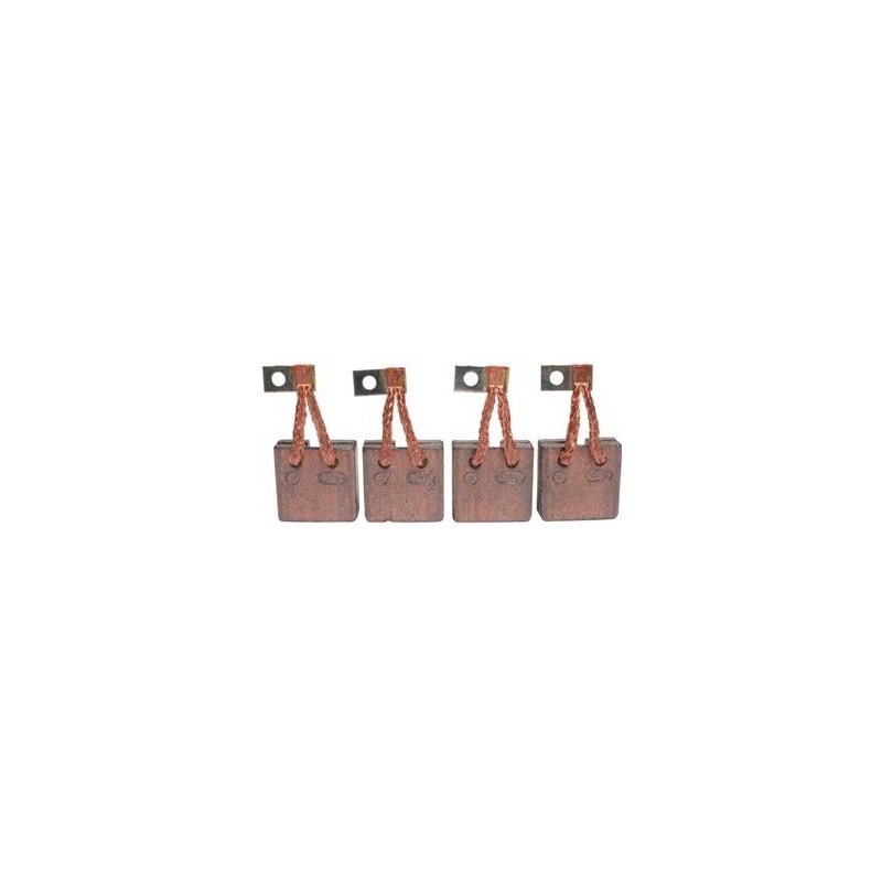 Brush set for starter BOSCH 0136352005 / 0136355049 / 0136355050