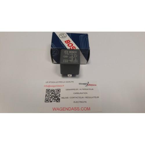 Relais Bosch 0332209159 12 volts 30 ampères