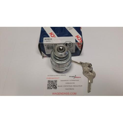 Contacteur à clé / préchauffage Bosch 0342316002