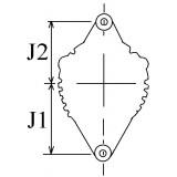 Alternateur remplace Denso 100211-7450 / 100211-745 / 100211-7061