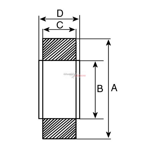 Ball Bearing replacing SKF 6302-2rs1 / LUCAS utb101 / DENSO 949100-0390