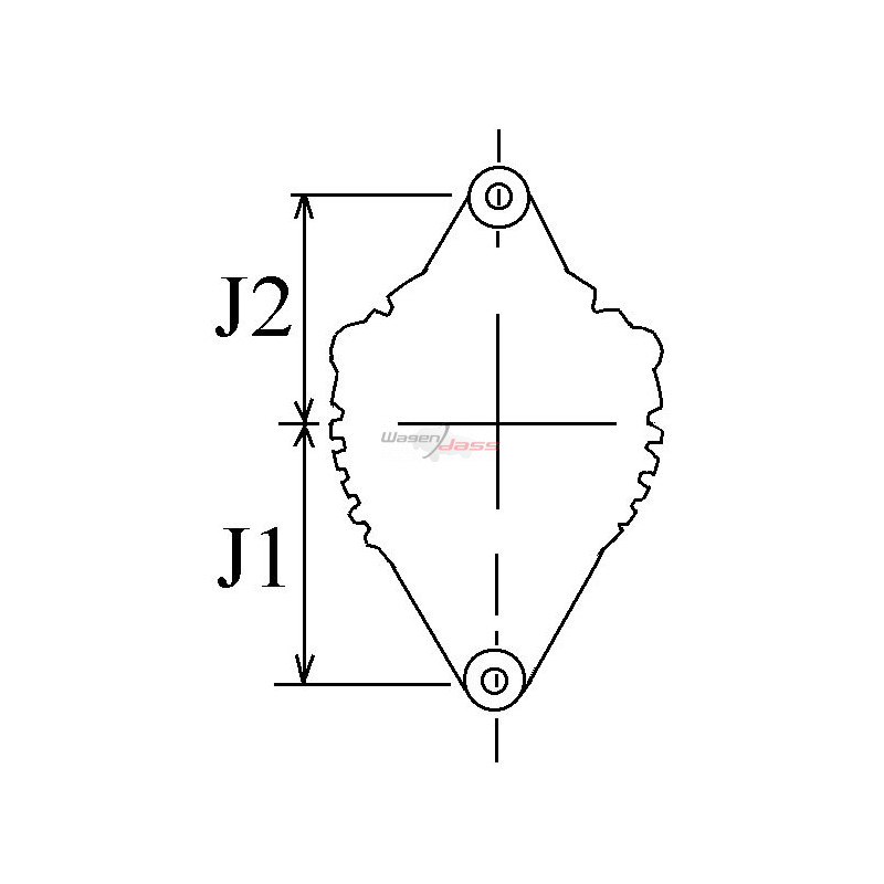 Alternator replacing BOSCH 0122469003 / 0122469001