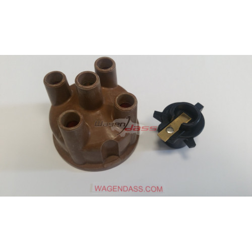 Ensemble head / rotor for ignition coil DUCELLIER on CITROEN DS / PEUGEOT