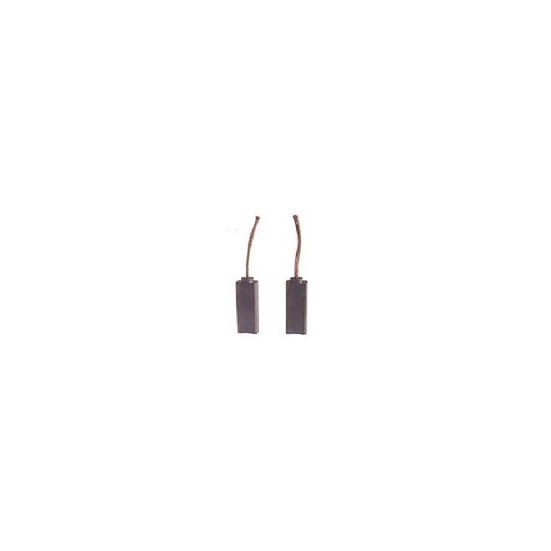 Jeu de balais / charbon pour alternateur Bosch 0120489862 / 0120689502 / 0120689503