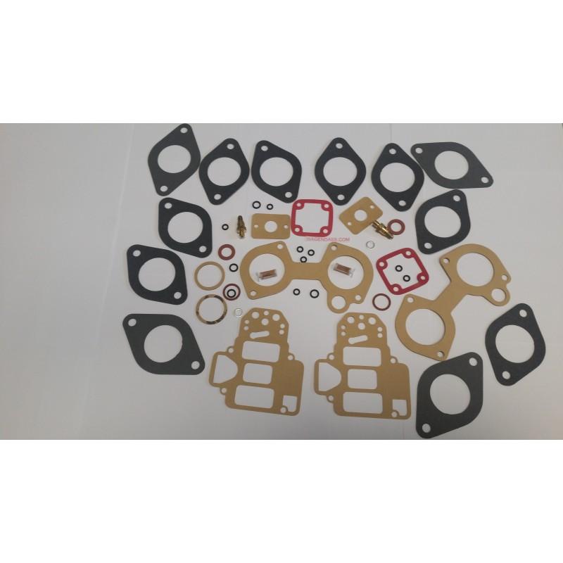 Pochette de joint pour carburateur 2x40 DCOE 145-146 sur Ritmo Abarth 130 TC