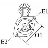 Anlasser ersetzt VALEO D6RA75 / D6RA55 für motorrad BMW