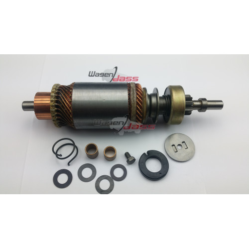 Ensemble armature / drive for starter Ducellier 6187B / 6187C
