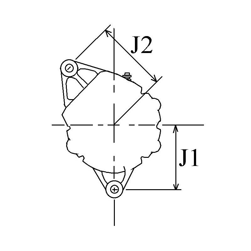 Alternator replacing DENSO 101211-5220 / 101211-5210 / 100211-8810