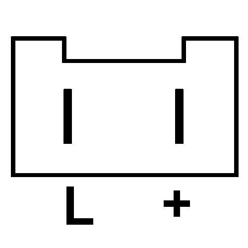 Regler für lichtmaschine VALEO a14n1 / a14n2 / a12r38 / a12r46