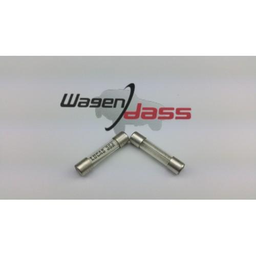 Set of 2 fuses verre LUCAS 35 Amp