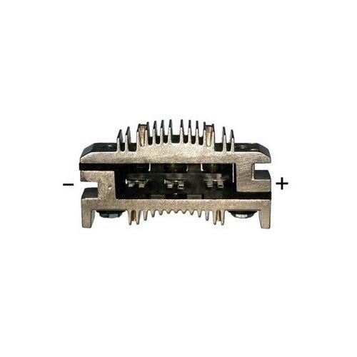 Pont de diode pour alternateur Ducellier 451058 / 513001A / 513001B / 513001C