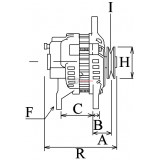 Lichtmaschine ersetzt BOSCH 0120489147 / 0120489146 / 0120489134