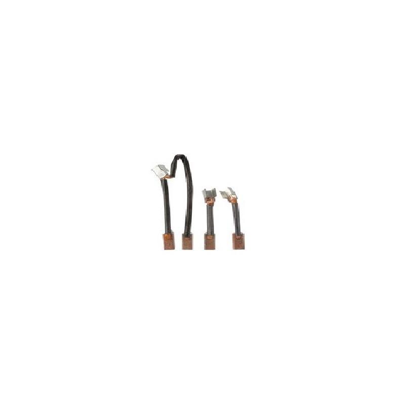 Jeu de balais / charbon pour démarreur Ducellier 532024A / 532025A