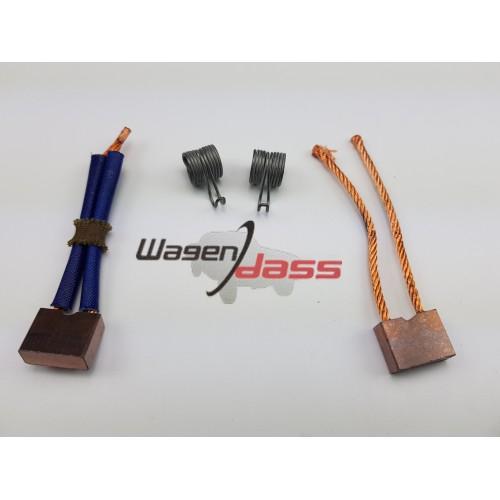 Brush set with springs for starter d10e48 / d10e54 / d10e57