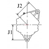 Alternateur remplace Bosch 0120489124 / 0120489123 / 0120489121