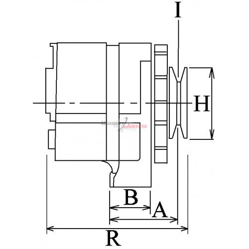 Alternateur remplace Bosch 0120469863 / 0120469768 / 0120469739