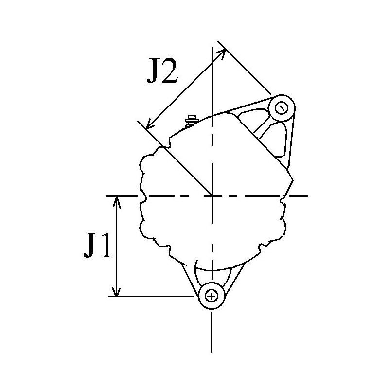 Alternator replacing BOSCH 0120489999 / 0120489975 / 0120489789