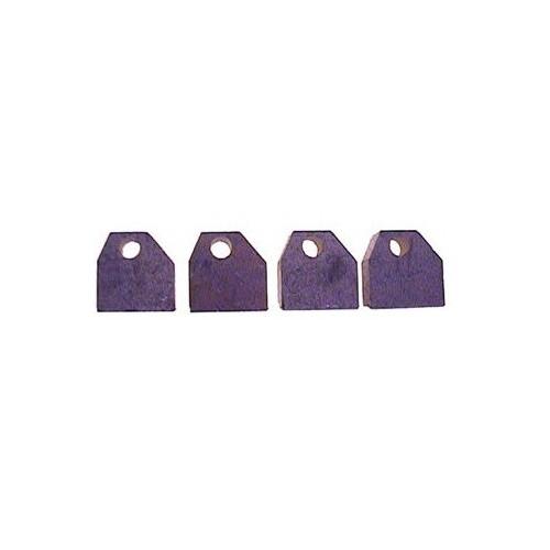Kohlensatz für anlasser DELCO REMY 10455340 / 10455304 / 10455308