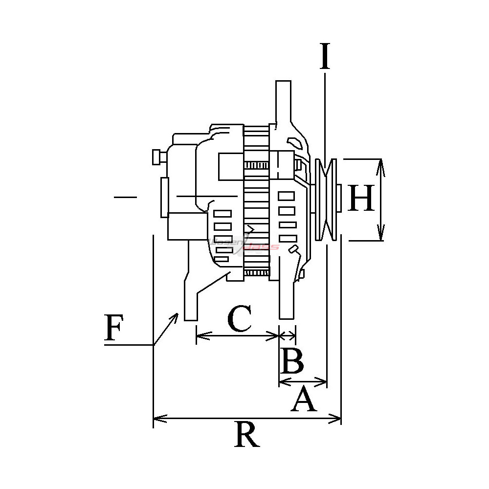 [SCHEMATICS_4LK]  Alternator replacing DENSO 102211-8140 / 102211-8141 for Caterpillar | Denso Alternator Yanmar Wiring Diagram |  | Wagendass