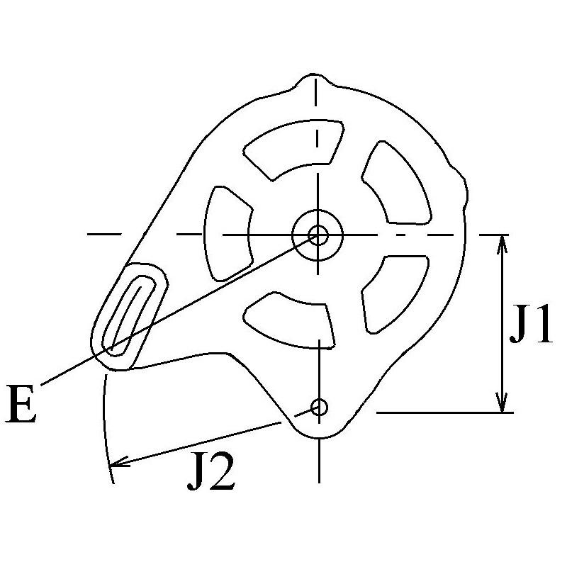 Alternateur remplace Hitachi LR140-704 / LR140-708 / LR140-708C