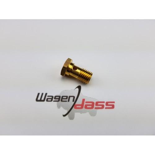 Raccord entrée essence pour carburateur weber