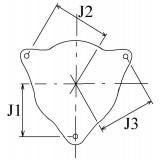 Alternator replacing BOSCH 0120489757 / 0120489726 / 0120489725