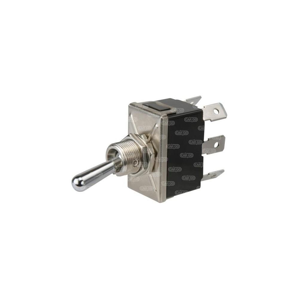 interrupteur bascule 12 volts 16 amp res ou 24 volts 8 amp res 6 bornes. Black Bedroom Furniture Sets. Home Design Ideas