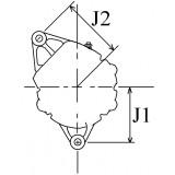 Alternateur remplace Lucas 54022313 / 54022291 / 54022285