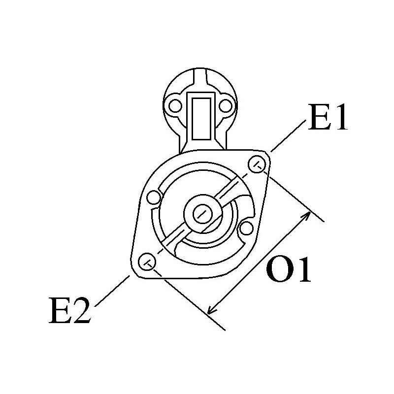 Anlasser ersetzt BOSCH 0001354029 / 0001354108 / 0001367008