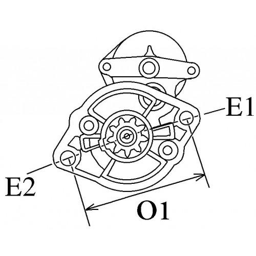 Starter HITACHI S13-294