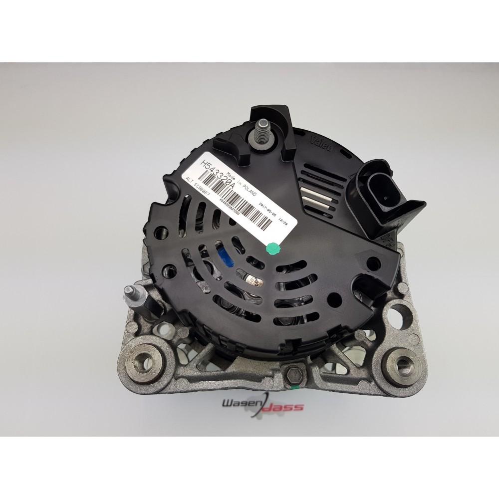 Valeo 439949 New Premium Alternator Replacement for Certain Audi Models