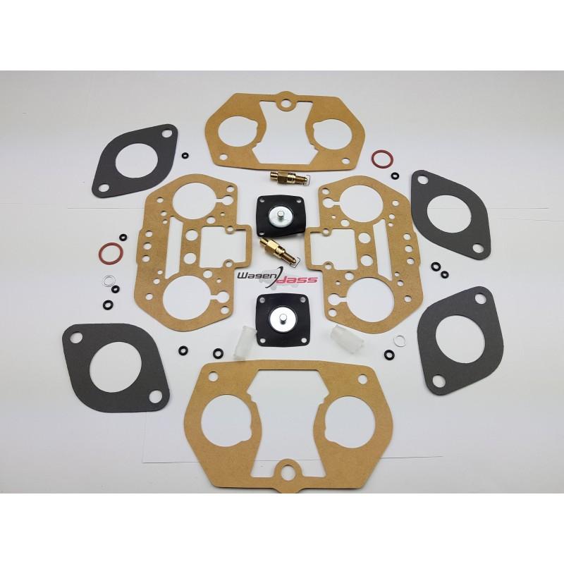 Pochette de joint pour carburateur weber 2x 36IDF sur Alfa roméo