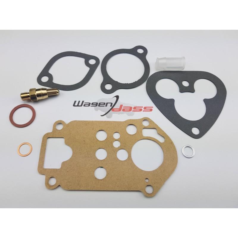 Gasket Kit for carburettor weber 26IMB4 / 26IMB5 on Fiat 500 D