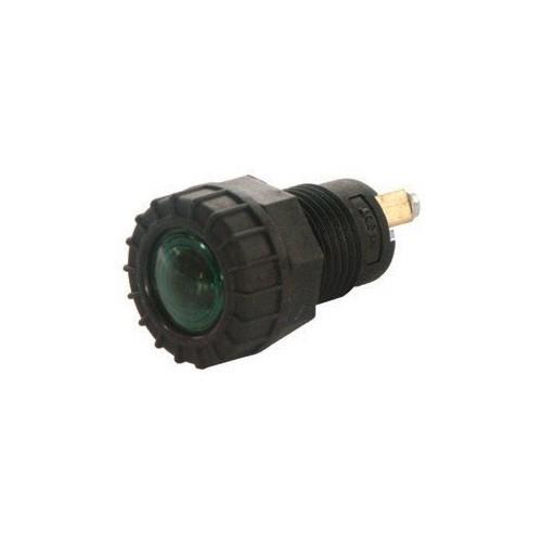 Indicator Light green 12 / 24 volts