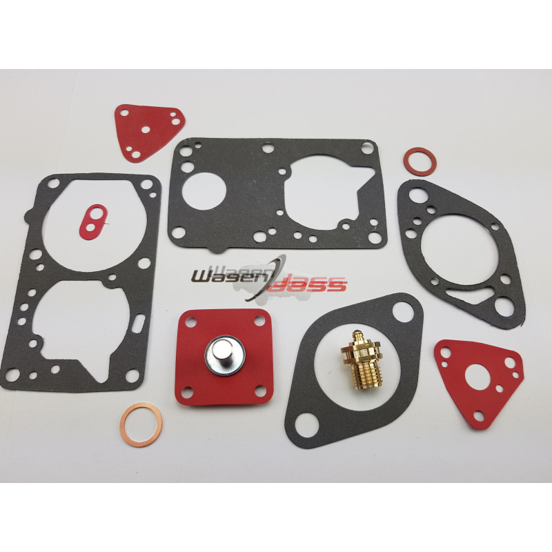 Service Kit for carburettor 34PBISA on Peugeot 204 / 205 / 304