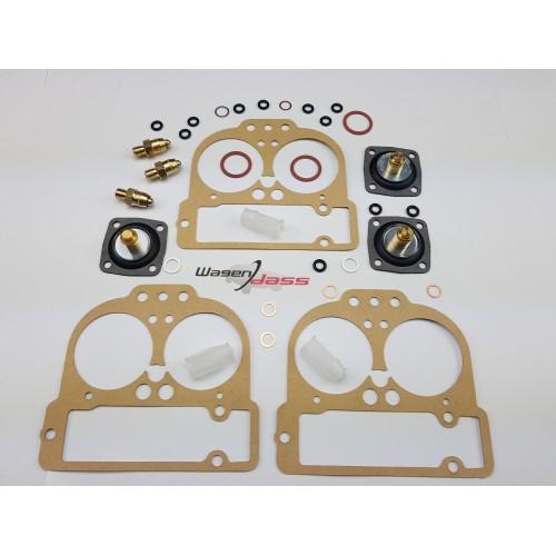 Gasket kit for carburettor 3 x 42 DCNF on Maserati merak