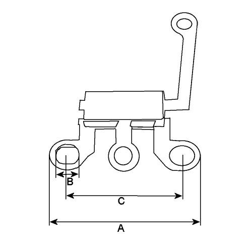 Diodentrio für lichtmaschine DELCO REMY 10459002 / 10459004 / 10459008
