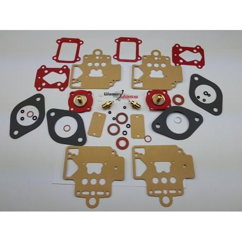 Pochette de joint pour carburateur DELLORTO 2x40DHLA sur Alfa roméo