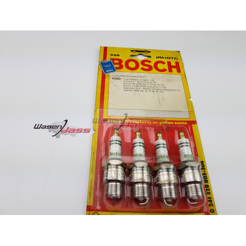 Jeu de 4 bougies Bosch D8B / 0241329803 pour Ford