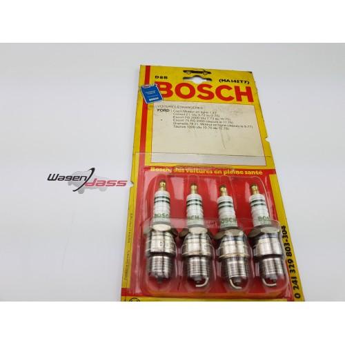Set of 4 spark plug BOSCH D8B / 0241329803 for Ford
