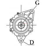 Alternator replacing BOSCH 0120689541 / 0120689540 / 0120689527