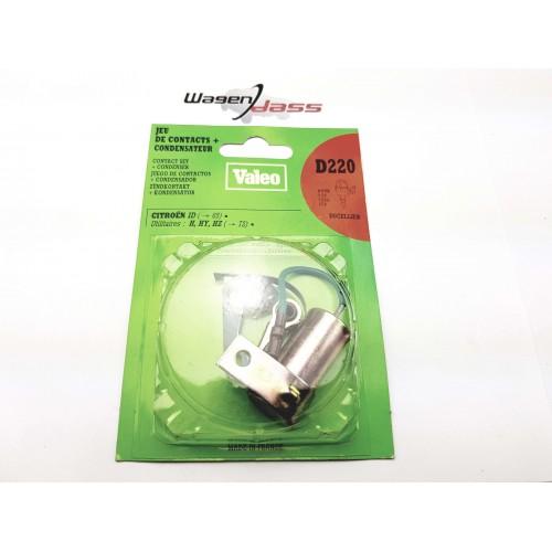 Rupteur / condensateur D220 pour allumeur Ducellier