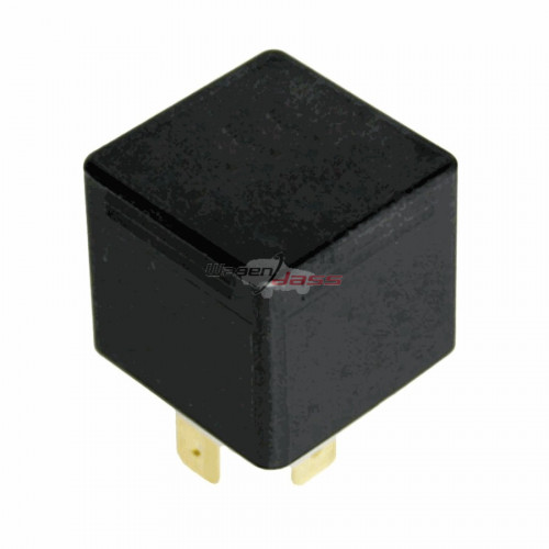 Relais - DOUBLE CONTACT - 12 Volts - 2 x 15 Amp