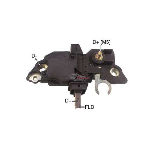 Regulator for alternator BOSCH 0124225001 / 0124225002 / 0124225004 / 0124225009
