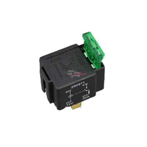 Mini relay 12 V - 30 A replacing WEHRLE 20200102 / 20200140