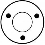 Solenoid for starter BOSCH 0001360022 / 0001360052 / 0001360065